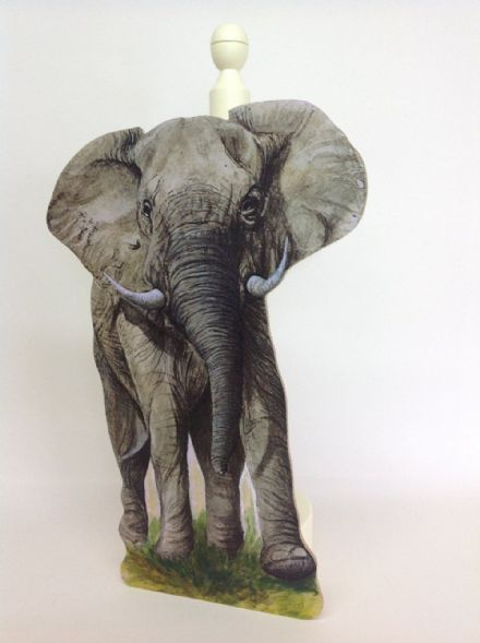 Elephant Spare Toilet Roll Holder